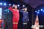 Nữ sinh ĐH Phòng cháy chữa cháy khoe dáng chuẩn trong trang phục ngành