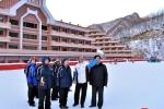 Ảnh: Đại diện 2 miền Triều Tiên khảo sát cơ sở phục vụ Olympic Mùa đông 2018