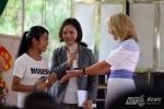 Đệ nhị Phu nhân Mỹ thăm Trung tâm chữa bệnh, giáo dục, lao động xã hội số II