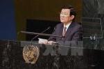 Toàn văn phát biểu của Chủ tịch nước Trương Tấn Sang về hoạt động gìn giữ hòa bình