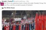 Video: Tổng thống Trump gửi lời cảm ơn sâu sắc tới Việt Nam