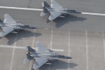 Hàng chục tiêm kích Mỹ gần Triều Tiên diễn tập sẵn sàng chiến đấu