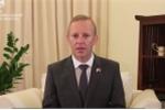 Clip: Đại sứ Anh tại Việt Nam lên tiếng vụ 39 thi thể trong container