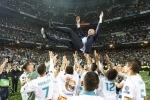 Zidane từ chức HLV Real Madrid: 'Thật khó để tiếp tục chiến thắng'