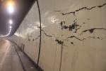 Hầm Hải Vân chằng chịt các vết nứt khiến tài xế lo lắng