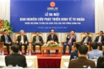 Chính thức ra mắt Ban Nghiên cứu kinh tế tư nhân của Chính phủ