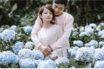 Ảnh cưới tuyệt đẹp giữa vườn hoa cẩm tú cầu của cặp đôi Bình Phước