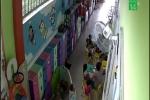 Bảo mẫu tát bé gái ngã dúi dụi ở TP.HCM: Gia đình đề nghị công an vào cuộc
