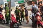 Bị xử phạt vi phạm luật giao thông, nam thanh niên gọi cả gia đình chửi bới, lăng mạ công an