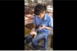 Clip: Cô gái 9X thiến lợn nhanh như máy ở Hà Giang
