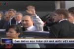 Những hình ảnh đầu tiên Tổng thống Putin tại Hà Nội