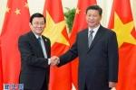 Ảnh: Vẻ mặt khác nhau ông Tập Cận Bình khi bắt tay các lãnh đạo APEC