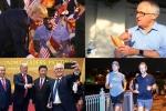 Lãnh đạo APEC ăn bánh mì bình dân, uống cà phê vỉa hè, chụp ảnh selfie tại Đà Nẵng