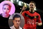 Thảo Trang, Trương Thế Vinh phấn khích khi cựu tuyển thủ Michael Owen sang Việt Nam