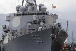 Chiến hạm Mỹ lần đầu cập cảng Cam Ranh sau 21 năm