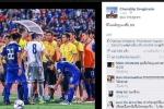 'Messi Thái Lan' hí hửng khoe ảnh chơi xấu cầu thủ Đài Loan