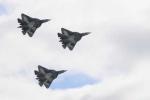 Chiến cơ thế hệ 5 Nga khoe tuyệt kỹ trên không