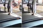 Clip: Phụ nữ nhanh trí chiến thắng tên cướp ngoạn mục