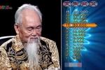Sốt xình xịch phần thi Ai là triệu phú của cụ ông 78