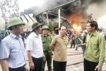 Cháy lớn tại công ty nhựa thông ở Quảng Ninh: Huy động 800 người chữa cháy