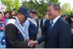 Lãnh đạo Hàn Quốc, Triều Tiên rời thủ đô, tiến về khu phi quân sự