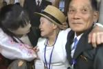 Những hình ảnh xúc động trong ngày các gia đình Hàn-Triều gặp nhau sau 70 năm ly tán
