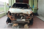 Truy tìm kẻ phóng hỏa đốt xe ô tô trong đêm ở Thanh Hóa