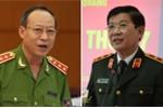 Bộ Công an điều chỉnh công tác của hai thứ trưởng