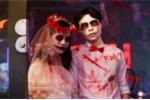 'Ma quỷ' tràn xuống phố đi bộ Sài Gòn đêm Halloween