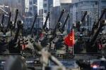 Ảnh: Dàn xe tăng, thiết giáp và pháo tự hành trong lễ diễu binh của Triều Tiên