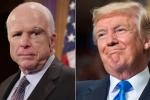 Vì sao Thượng nghị sĩ John McCain không muốn Tổng thống Trump viếng tang?