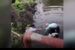 Video: Cảm động cụ ông 90 tuổi lao xuống sông lạnh như băng cứu bé trai