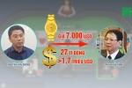 Cựu Trung tướng Phan Văn Vĩnh được trùm cờ bạc hối lộ những gì?