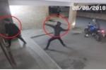 Clip: Rủ nhau đi ăn trộm, bị đồng bọn ném gạch trúng đầu ngất lịm
