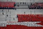 Triều Tiên diễu binh hoành tráng, phô diễn sức mạnh