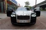 Mang Rolls Royce Ghost 30 tỷ đồng rao bán trên vỉa hè Hà Nội