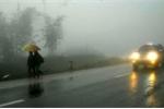 Không khí lạnh tràn về, Bắc Bộ mưa rét