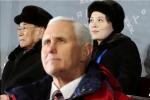Phó Tổng thống Mỹ tránh quan chức Triều Tiên tại lễ khai mạc Thế vận hội mùa đông 2018