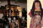 Kỳ lạ chuyện búp bê ma ám mọc tóc dài trong ngôi đền cổ ở Nhật Bản
