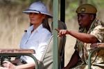Chiếc mũ khiến Đệ nhất phu nhân Mỹ bị chỉ trích nặng nề khi đến châu Phi