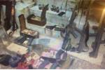 Ảnh: Cận cảnh kho vũ khí của 2 trùm ma túy ở Lóng Luông