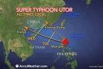 Siêu bão Utor vẫn có khả năng đổ bộ Việt Nam
