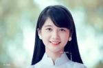 Nữ sinh ĐH Thái Nguyên khoe vẻ đẹp trong sáng