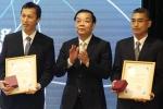 Vinh danh 3 nhà khoa học Việt Nam tầm cỡ thế giới