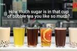 Lượng đường khủng khiếp có trong một cốc trà sữa