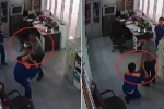 Clip: Nghi ngờ gian lận, khách dùng ấm chén đánh nhân viên cây xăng chảy máu mồm
