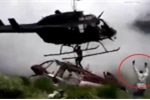 Clip: Kỹ sư bị cánh quạt trực thăng cứu hộ chém chết thương tâm