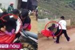 Xôn xao clip bé gái vùng vẫy khóc thét khi bị nhóm thanh niên 'bắt vợ' ở Hòa Bình