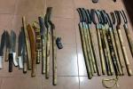 Ngăn chặn hàng chục thanh niên vác mã tấu chuẩn bị hỗn chiến ở Lâm Đồng