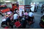 Clip: Tức tốc làm nhiệm vụ, lính cứu hỏa Croatia bỏ lỡ khoảnh khắc lịch sử tại World Cup